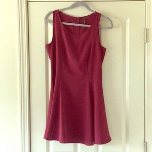 Divided Maroon Mini Dress by H&M